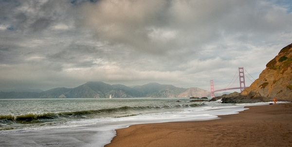 The Golden Gate Bridge in HDR