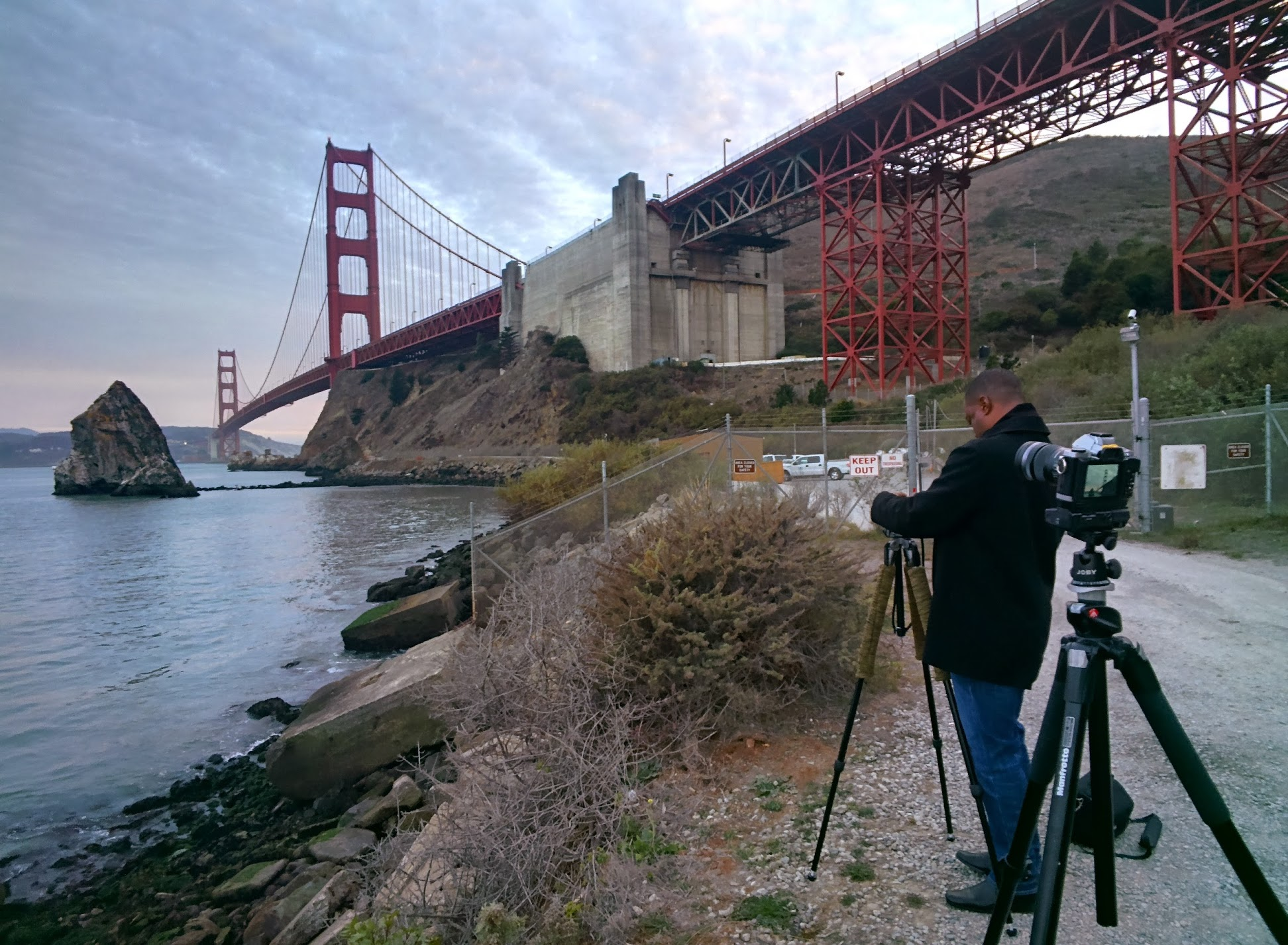 Shooting the Golden Gate Bridge